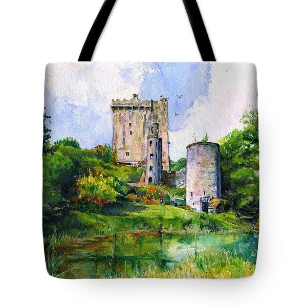 Blarney Castle Landscape Tote Bag