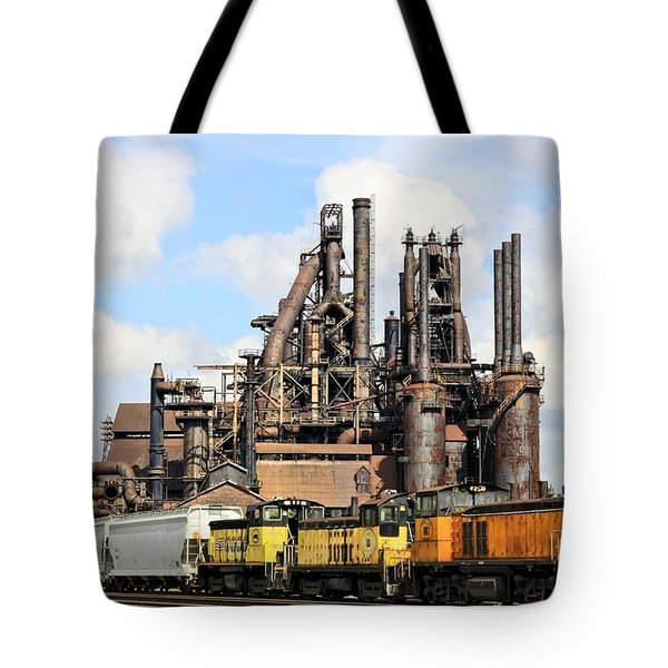 Blast Furnaces Of South Bethlehem Tote Bag