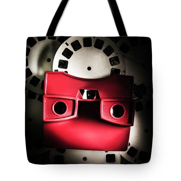 Blast Past A Retro Play Back  Tote Bag