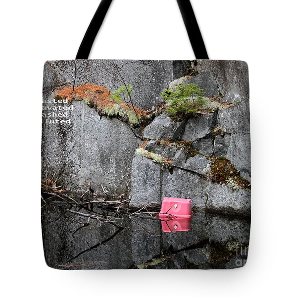 Blasted And Trashed Tote Bag