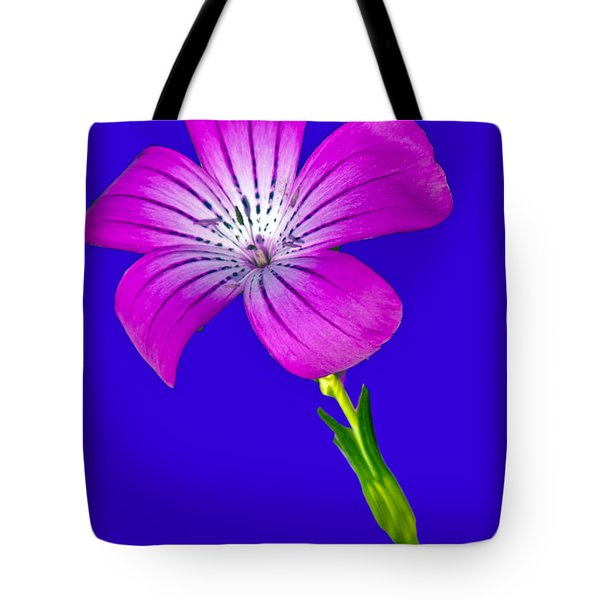 Blasting Flower Tote Bag