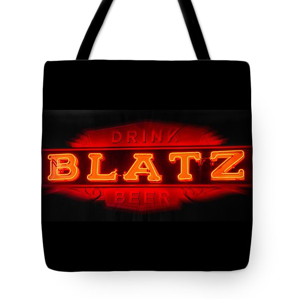 Blatz Beer  Tote Bag