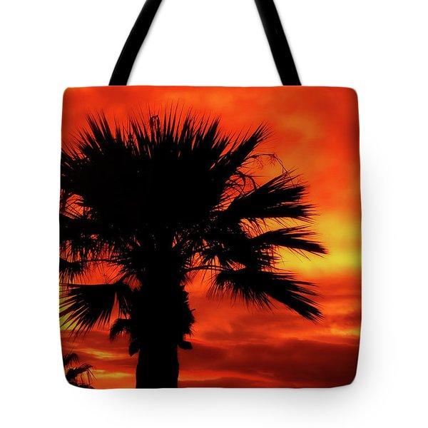 Blaze Tote Bag