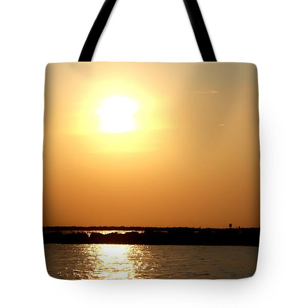 Tote Bag featuring the photograph Blaze Of Glory by Debra Forand
