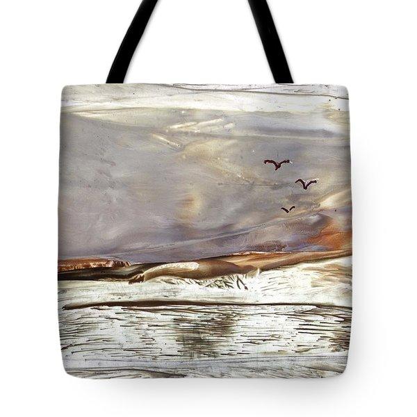 Blazing Billabong Tote Bag