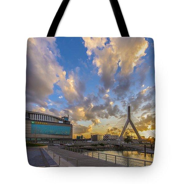 Blazing Sunset Tote Bag