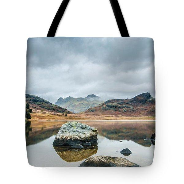 Blea Tarn In Cumbria Tote Bag