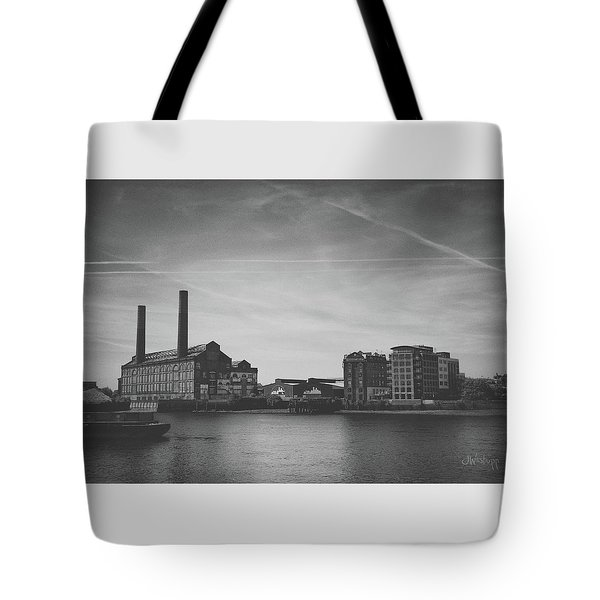 Bleak Industry Tote Bag by Joseph Westrupp
