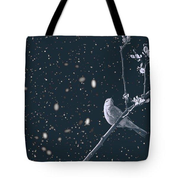 Bleak Winter Tote Bag