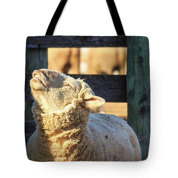 Bleating Sheep Tote Bag