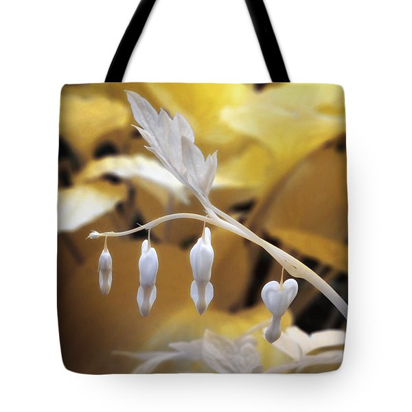 Bleeding Heart Gld Tote Bag
