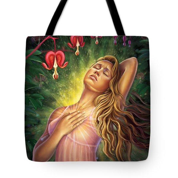 Bleeding Heart - Heal The Heart Tote Bag