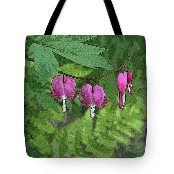 Bleeding Hearts 2 Tote Bag