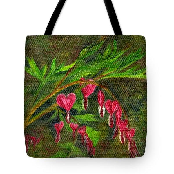 Bleeding Hearts Tote Bag