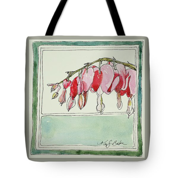 Bleeding Hearts II Tote Bag