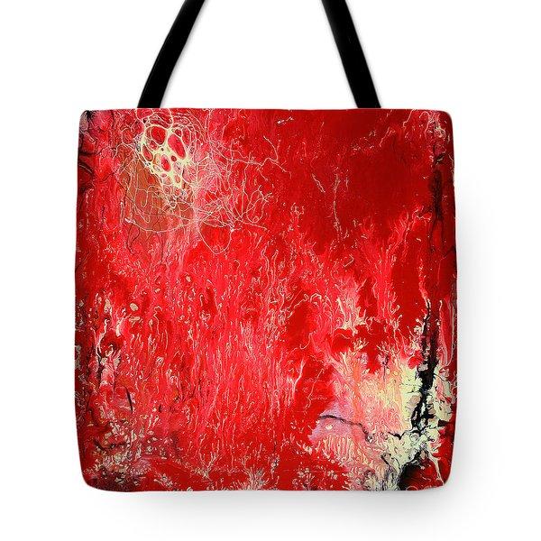 Bleeding Love Tote Bag by Jutta Maria Pusl