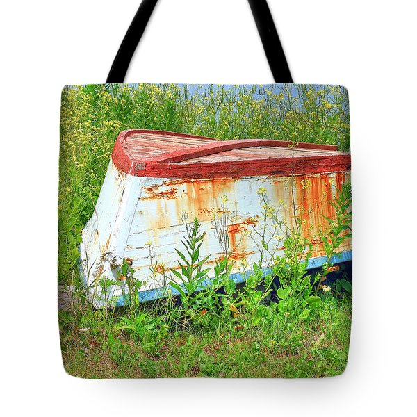 Bleeding Scars Of Age Tote Bag