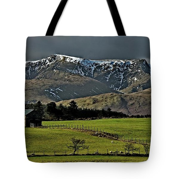 Blencathra Mountain, Lake District Tote Bag