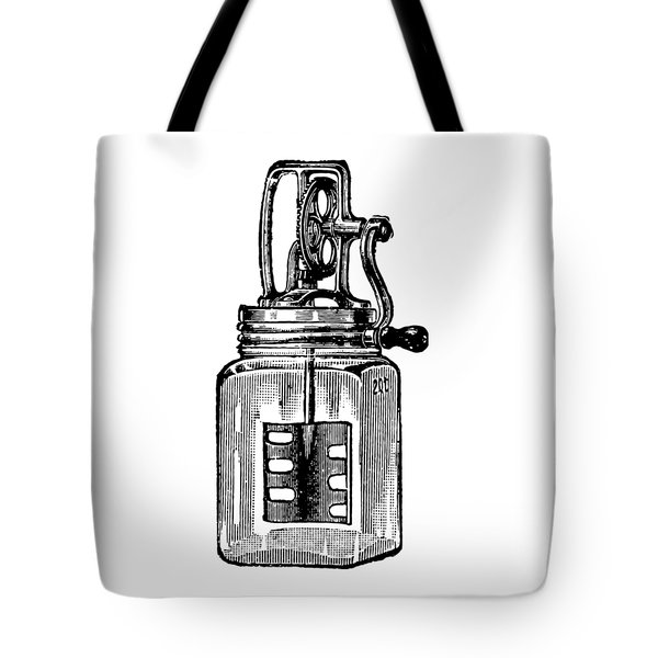 Tote Bag featuring the digital art Blended by ReInVintaged