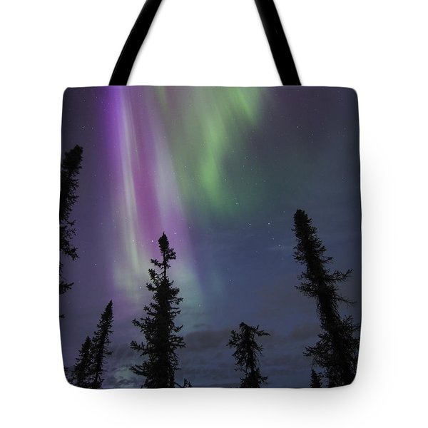 Blended With Green Tote Bag