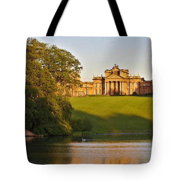 Blenheim Palace And Lake Tote Bag