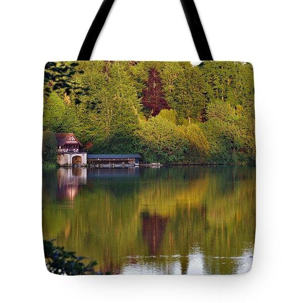 Blenheim Palace Boathouse 2 Tote Bag
