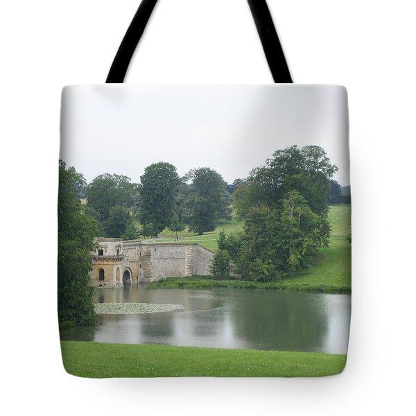 Blenheim Palace Lake Tote Bag