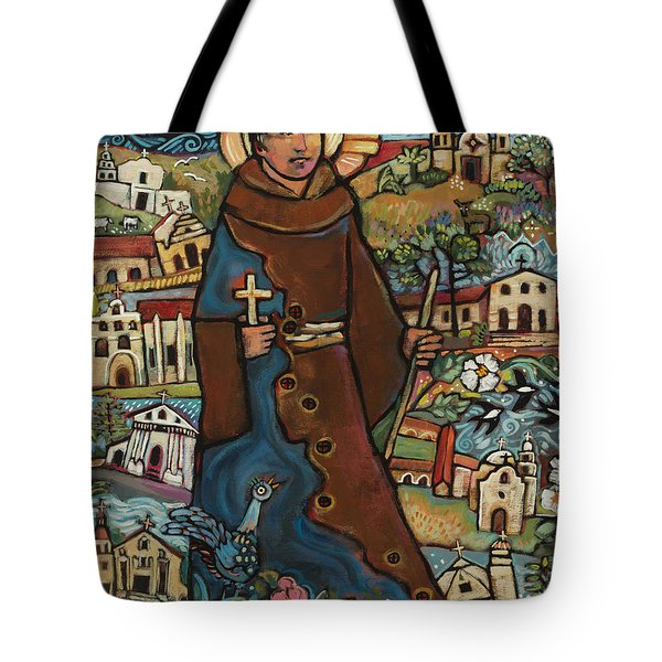 Blessed Junipero Serra Tote Bag
