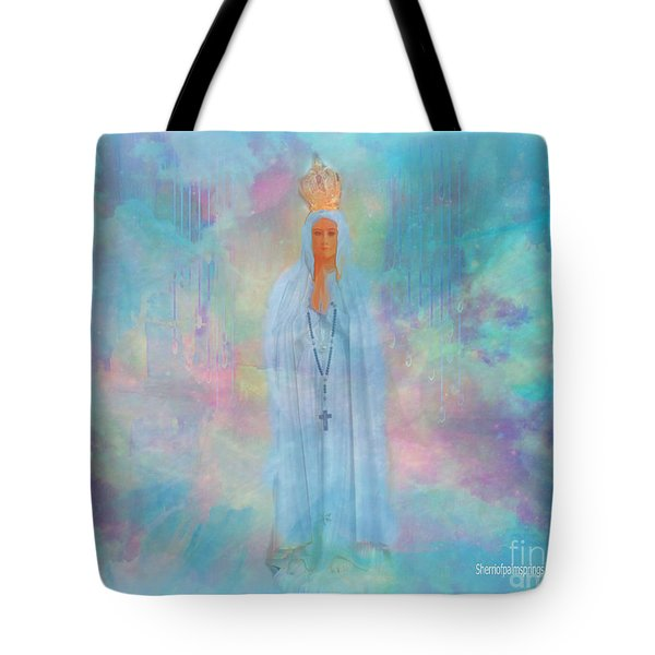 Blessed Mother Of Jesus Tote Bag