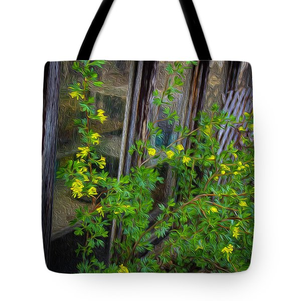 Blessed With Currents Tote Bag