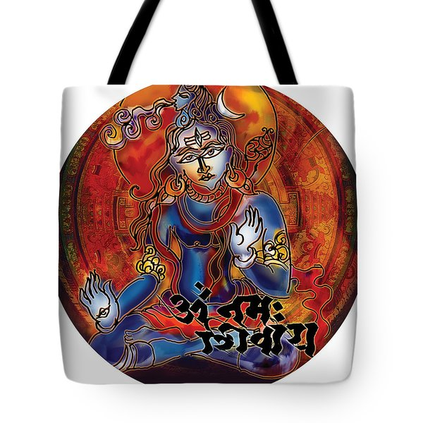 Blessing Shiva Tote Bag