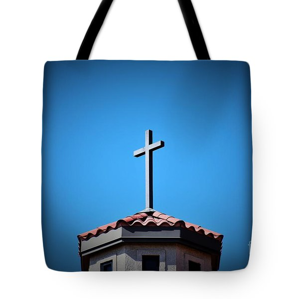 Tote Bag featuring the photograph Blessings To Everyone Of All Faiths by Ray Shrewsberry