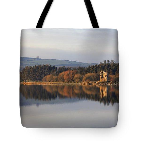 Blessington Lakes Tote Bag by Phil Crean