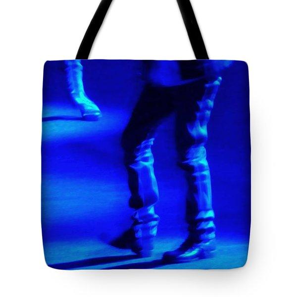 Bleu Tapping Tote Bag