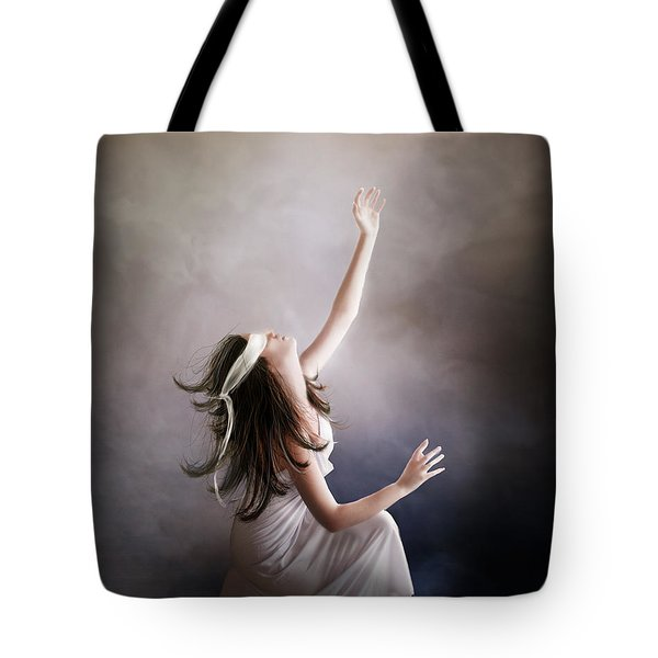 Blind Tote Bag by Mary Hood