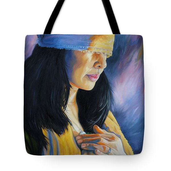 Blind Love Tote Bag