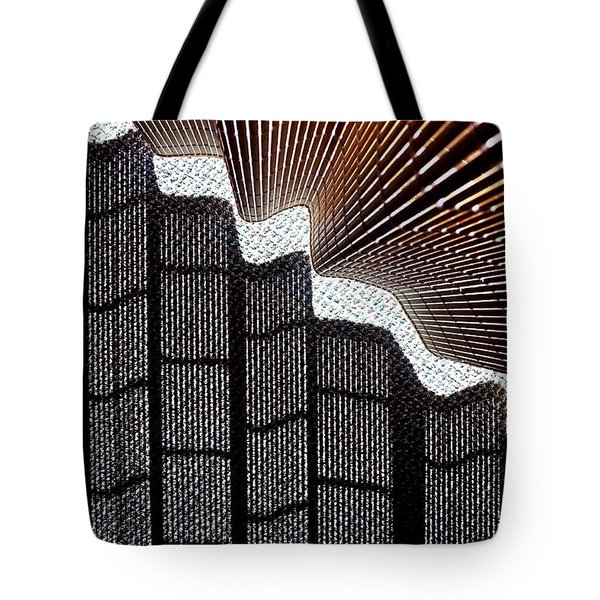 Blind Shadows Abstract I Tote Bag