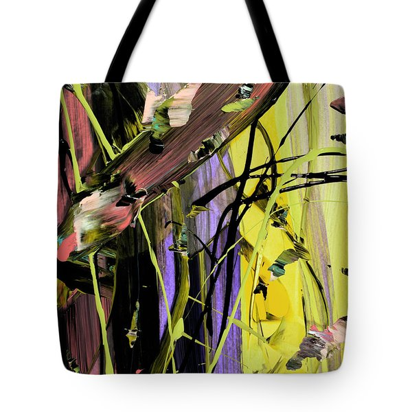 Blindfolded Abstract Tote Bag