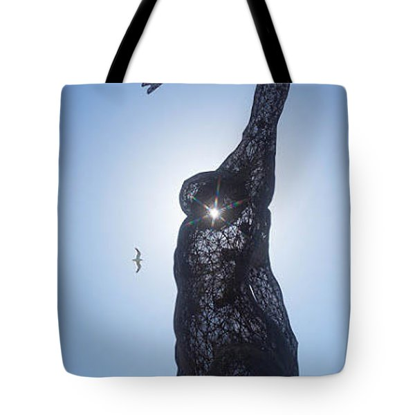 Tote Bag featuring the photograph Bliss Dancer by Lora Lee Chapman