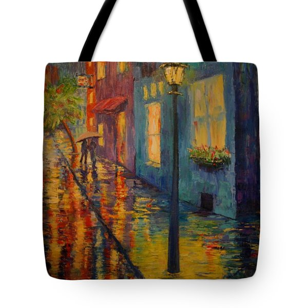 Tote Bag featuring the painting Bliss by Dorothy Allston Rogers