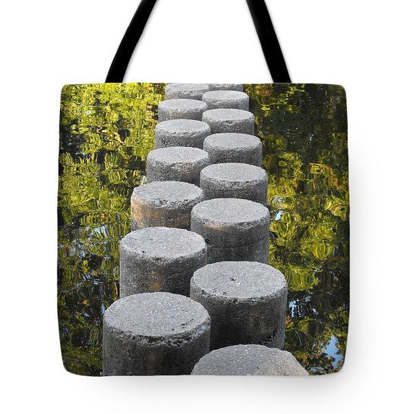 Blissful Path Of Tranquility Tote Bag