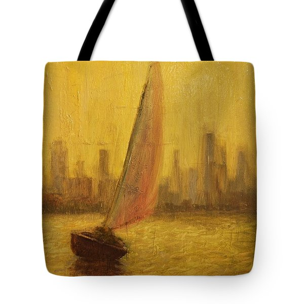 Blissful Sail Tote Bag