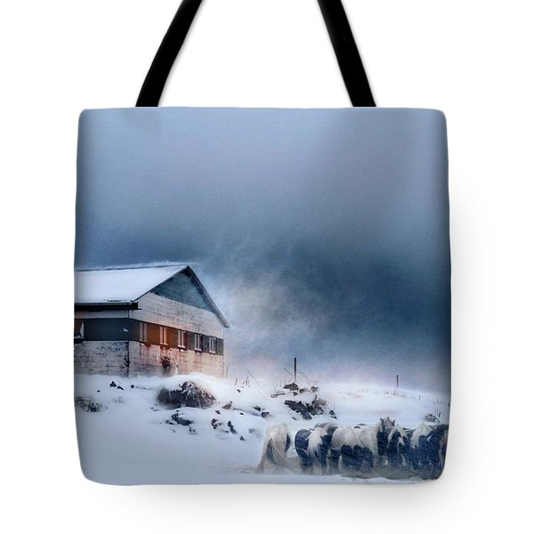 Blizzard Bliss Tote Bag