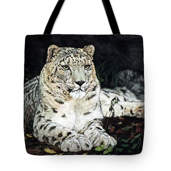 Blizzard Tote Bag by Linda Becker