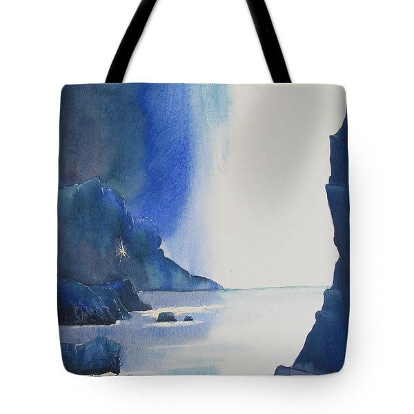 Blizzard Of Blue Tote Bag