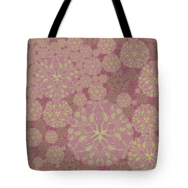 Blob Flower Painting #3 Pink Tote Bag