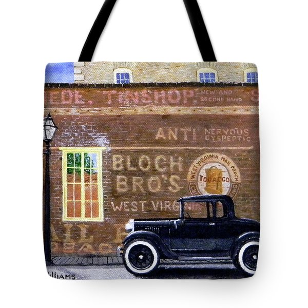 Bloch's Wall Tote Bag