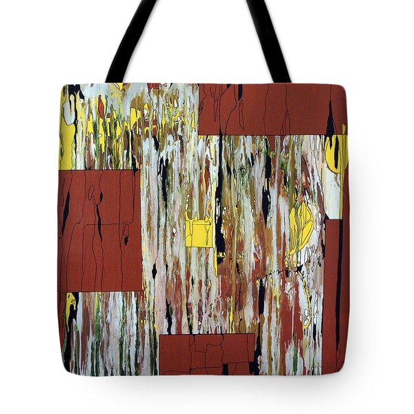 Block Dance Tote Bag by Pat Purdy