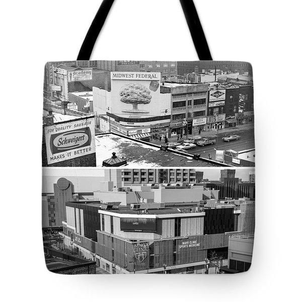 Block 'e' In Minneapolis Tote Bag