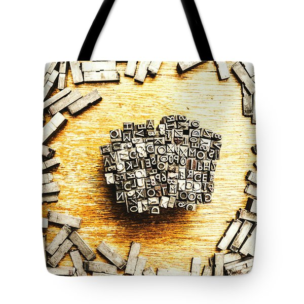 Block Of Communication Tote Bag
